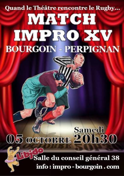 affiche XV impro 2019